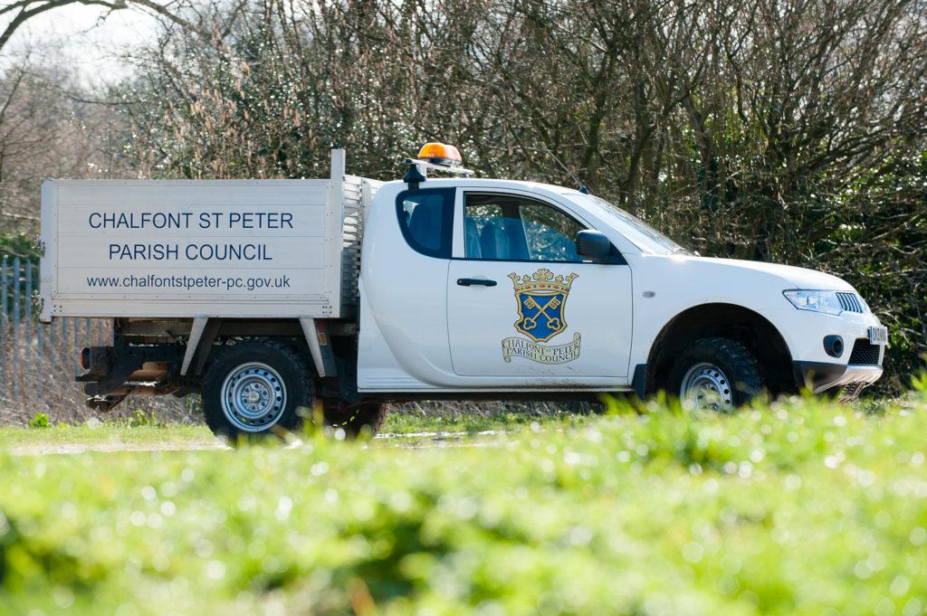 Csp Parish Council Van