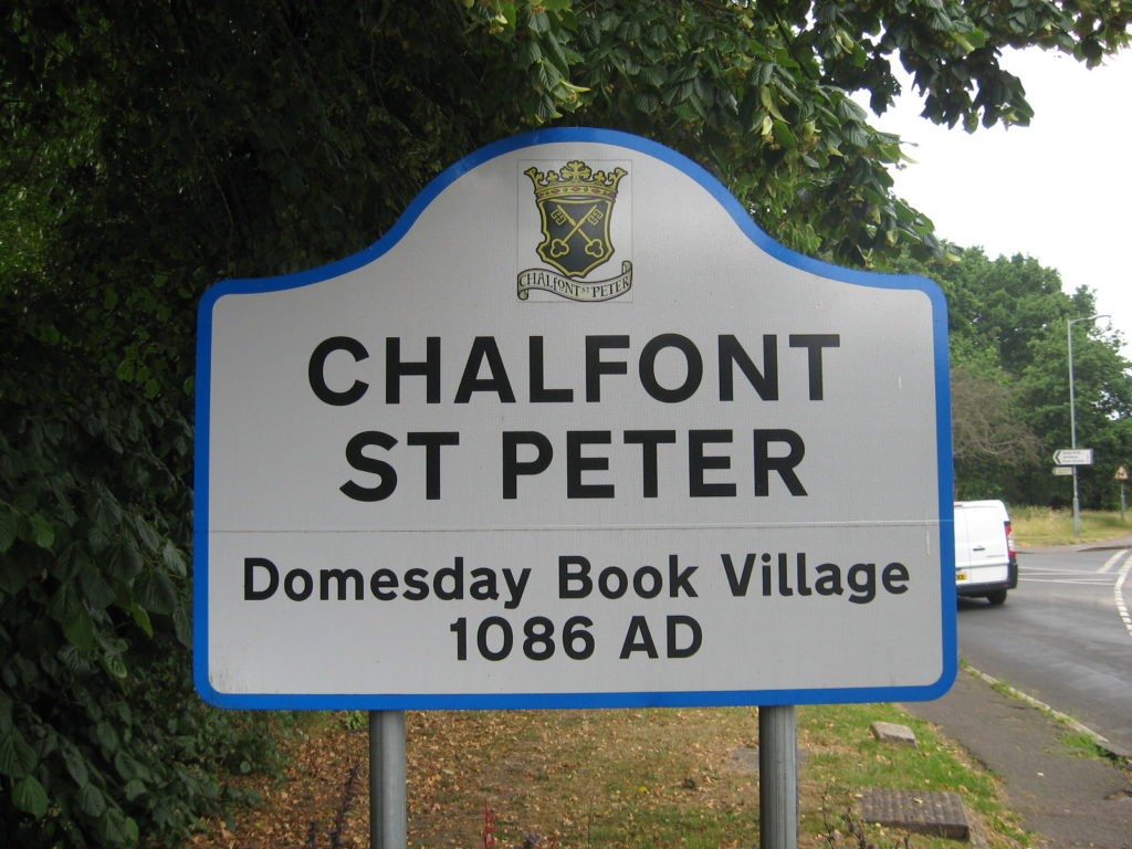 Welcome Sign Post